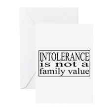 Intolerance Greeting Cards (Pk of 10)