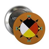 "Cherokee Four Directions 2.25"" Button"