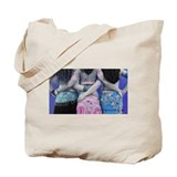 Belly Dance Trio Tote Bag