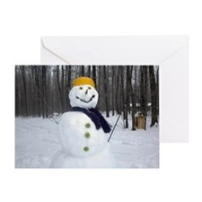 Christmas - Wintertime Greeting Card