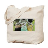 Antique Belly Dance Trio Tote Bag