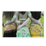 Antique Belly Dance Trio Postcards (Package of 8)
