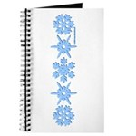 Winter Snowflakes Journal