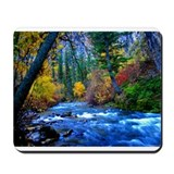 Mountain river Mousepad
