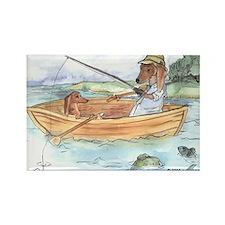 Original Dachshund Dog Rectangle Magnet (10 pack)