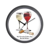 Cute  sangria lover Wall Clock