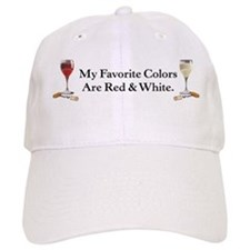 Cute Red wine Baseball Cap