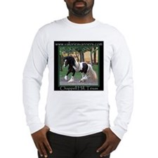 Unique Gypsy vanner horse Long Sleeve T-Shirt