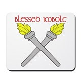 BLESSED IMBOLC Mousepad