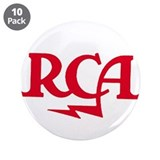RCA meatball 3.5&quot; Button (10 pack)
