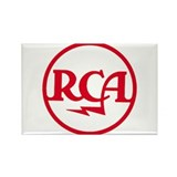 RCA meatball Rectangle Magnet