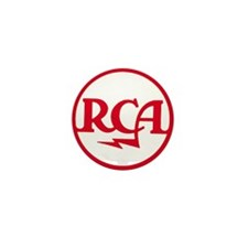 RCA meatball Mini Button