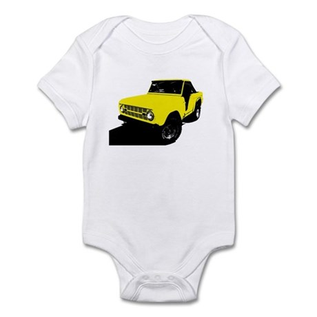 Yellow Bronco Infant Bodysuit