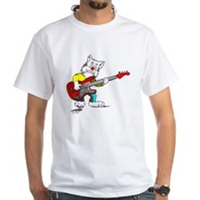 Catoons™ Bass Guitar Cat Shirt