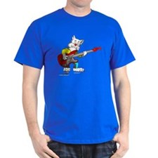 Catoons™ Bass Guitar Cat T-Shirt
