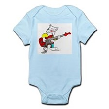 Catoons™ Bass Guitar Cat Infant Bodysuit
