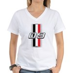 Cars 2009 Women's V-Neck T-Shirt
