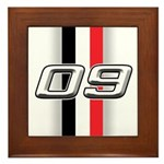 Cars 2009 Framed Tile