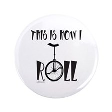 "UNICYCLE/UNICYCLIST 3.5"" Button (100 pack)"