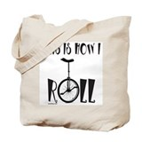 UNICYCLE/UNICYCLIST Tote Bag