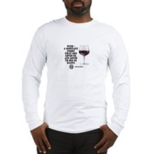 Wine - Proof God Loves Us Long Sleeve T-Shirt
