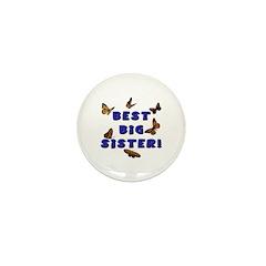 Best Big Sister! Mini Button (100 pack)