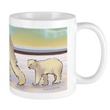 Mother Polar Bear &amp;amp; Cub Mug