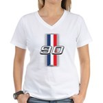 Cars 1990 Women's V-Neck T-Shirt