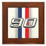Cars 1990 Framed Tile