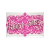 Fancy Rodeo Queen Rectangle Magnet (10 pack)