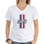 Cars 1955 Women's V-Neck T-Shirt