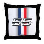 Cars 1955 Throw Pillow