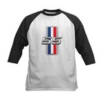 Cars 1955 Kids Baseball Jersey