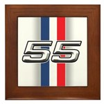 Cars 1955 Framed Tile