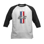 Cars 1956 Kids Baseball Jersey
