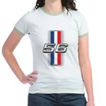Cars 1956 Jr. Ringer T-Shirt