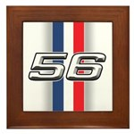 Cars 1956 Framed Tile