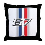 Cars 1967 Throw Pillow