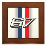 Cars 1967 Framed Tile