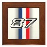Cars 1987 Framed Tile