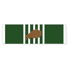 Army Commendation 1 Oak (Bumper)