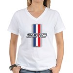 Cars 2010 Women's V-Neck T-Shirt
