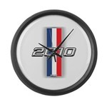 Cars 2010 Large Wall Clock