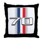 Cars 1970 Throw Pillow