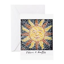 Cute Sunburst Greeting Card