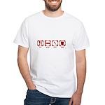 Eat Sleep Slay Shop White T-Shirt