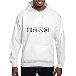 Eat Sleep Slay Shop Hooded Sweatshirt