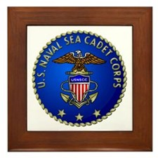 US Naval Sea Cadet Corps Framed Tile