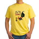 Hear Me Now Yellow T-Shirt