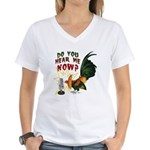Hear Me Now Women's V-Neck T-Shirt